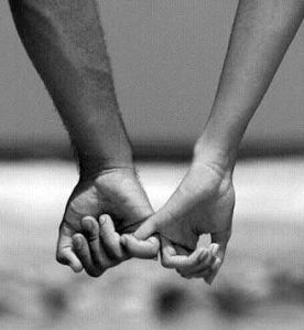 intimacy closeness hands