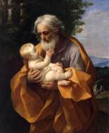 St. Joseph with the Infant Jesus by Guido Reni (1635)