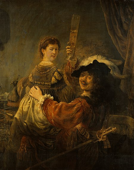 450px-Rembrandt_-_Rembrandt_and_Saskia_in_the_Scene_of_the_Prodigal_Son_-_Google_Art_Project
