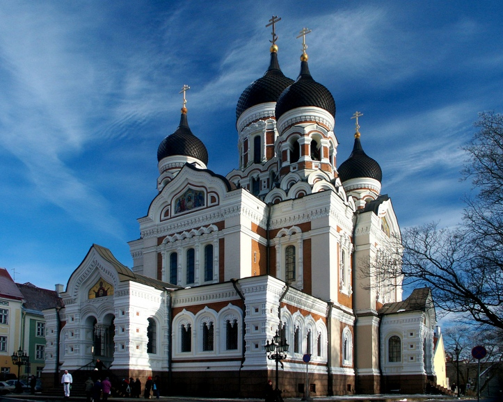 (Estonia) - Tallinn city - Alexander Nevsky Cathedral