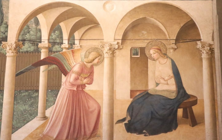 Annunciation-Fresco-by-Fra-Angelico